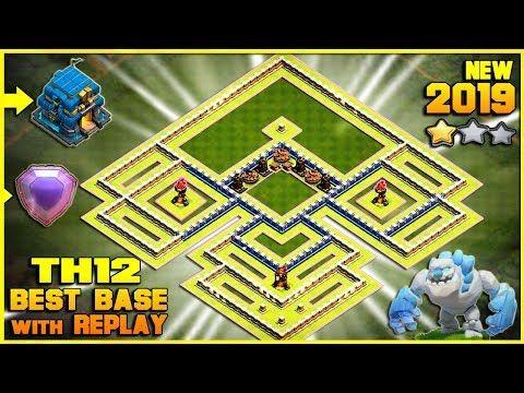 Coc Th12 Best Base 2019 6