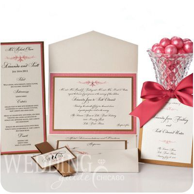 Wedding Invitations and Announcements!  All Things Paper  847.882.8142: