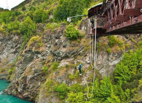 New Zealand - Bungee Jump