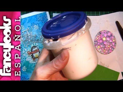 Cómo hacer Pasta relleno y relieve-múltiples usos - YouTube
