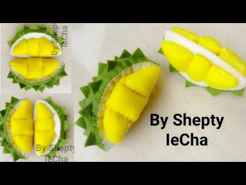 Cara Membuat Buah Durian Dari Kain Flanel Durian Felt Tutorial Youtube Tutorial Kerajinan Flanel Kain Flanel Buah