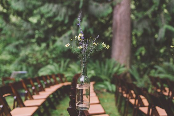 Logan and Dave | A folksy treehouse wedding | Treehouse Point, Issaquah, WA