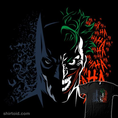 Dark vs. Joke #albertocubatas #batman #comic #comics #dccomics #film #movie #thejoker