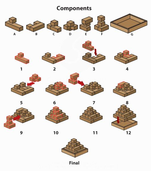 Galerry wood puzzle solutions