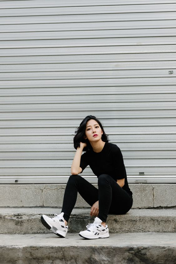 "iamalexfinch: "" #reebok HAN JI YEON WWW.IAMALEXFINCH.COM "":"