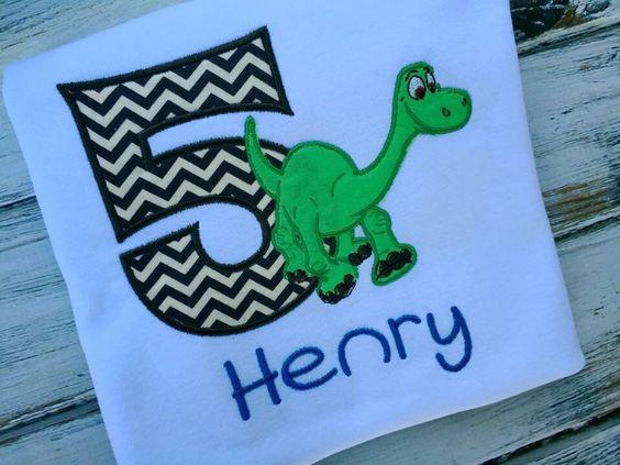 Good dinosaur birthday shirt, Arlo Birthday Shirt , Custom Birthday Shirt , dinosaur birthday shirt, boys birthday shirt, 5th birthday shirt by BabyBirdsCloset on Etsy https://www.etsy.com/listing/287318709/good-dinosaur-birthday-shirt-arlo