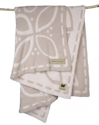 Barefoot Dreams Believe in Love throw. Denise James: The Malibu Colony Company, Malibu