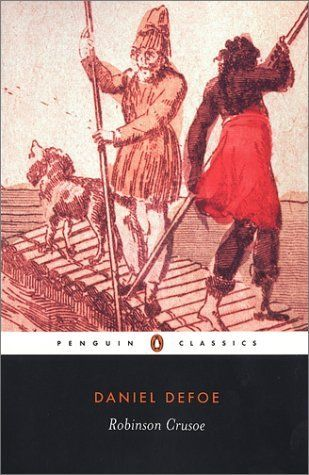 In August 2013 we'll be reading children's fiction: Robinson Crusoe by Daniel Defoe.: