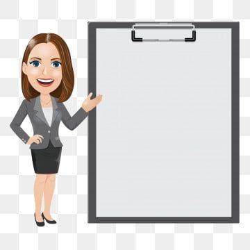 Gambar Wanita Perniagaan Dengan Clipboard Dan Kertas Kosong Clipart Wanita Wanita Ahli Perniagaan Png Dan Vektor Untuk Muat Turun Percuma In 2021 Business Women Women People Marketing