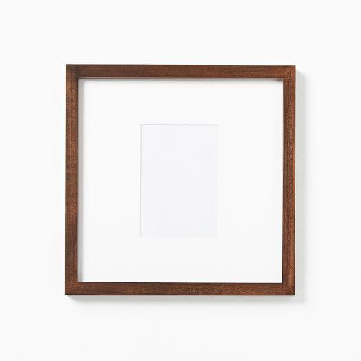Gallery Frames Dark Walnut Gallery Frames Gallery Frame Set Wood Gallery Frames