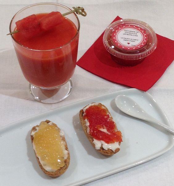 Gazpacho de sandia