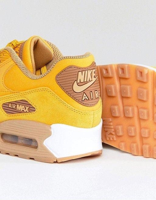 Nike - Air Max 90 - Baskets en daim avec semelle en gomme ...