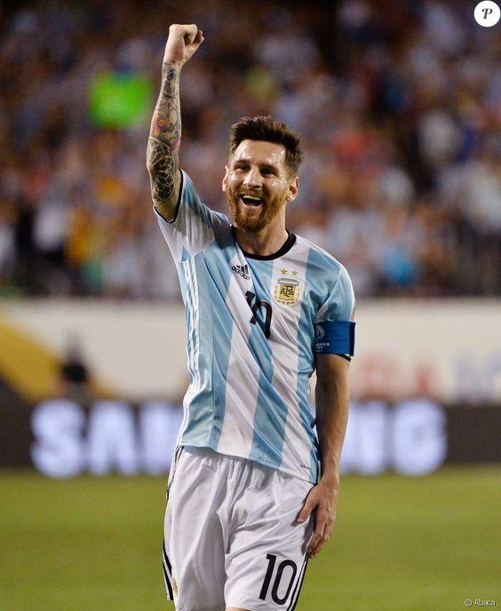 Lionel Messi lors de la Copa America Centenario à Chicago le 10 juin 2016.