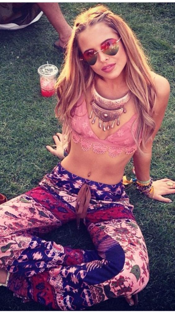 Love these pants and top  #bohostyle