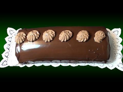 ▶ Brazo gitano de trufa y chocolate. Receta de Navidad - YouTube