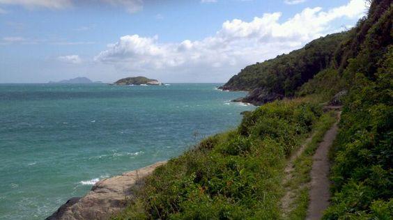 Praia dos Ingleses em Florianópolis, SC