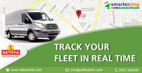 Want to track your fleet in real time. For More Details Mail to info@sathyainfo.com #sathyainfo #smarterping #fleettracking #tracking