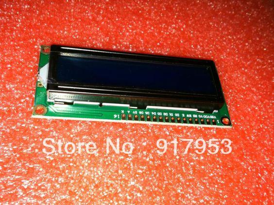 10PCS/LOT 5V Character LCD Module Display LCM 1602 162 16X2  blue blacklight  character