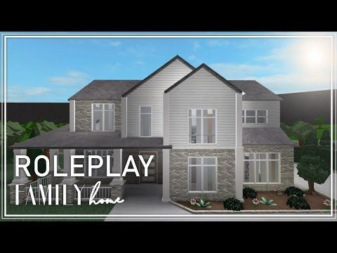 Roblox Welcome To Bloxburg Family Roleplay Home House Design House Styles House