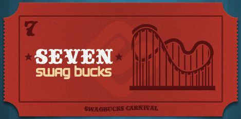 I won the limited edition 7 Swag Buck Bill at Swagbucks #swagbucks {xoxochula}