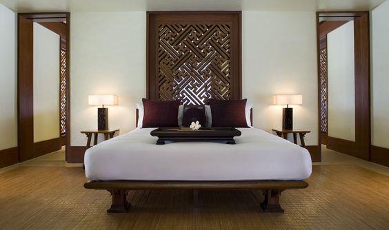 アジアンテイスト ベッド コーディネート例