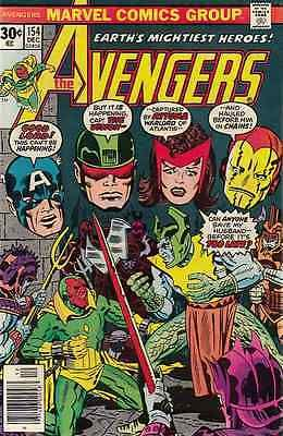 The avengers #154. december 1976 #(marvel #comics) boarded. free uk p+p! #last1,  View more on the LINK: http://www.zeppy.io/product/gb/2/371328333996/