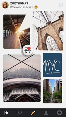 Pegg: your-mini-mobile-mood-board (Social Media app for iPhone)
