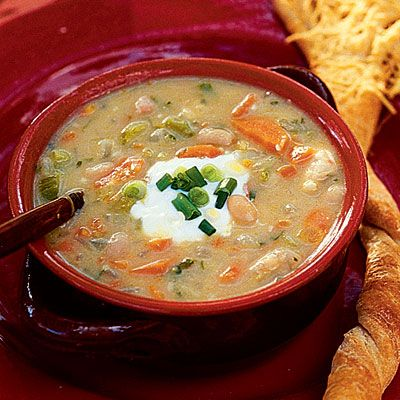 Halloween Recipes: Witches' Brew Chicken Soup - Halloween Recipes: Main Dishes - Southern Living