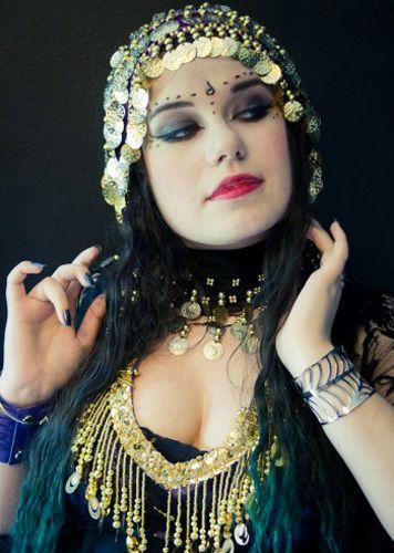 Maquillaje tribal fusión