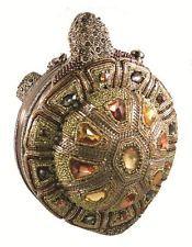 Mary Frances Handbag Tortuga Beaded Jeweled Purse Shoulder Bag Cross Body