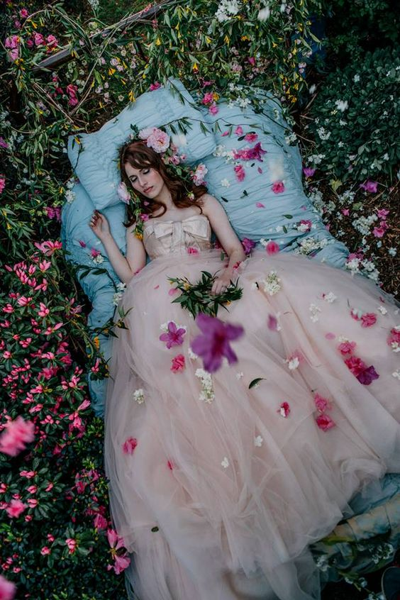 "Sleeping Beauty ""Fairytale"" Photo Shoot by Getz Creative Check out the next Wedding Festivals Platinum Bridal Show theme: ""Fairytale"". Gowns by Davids Bridal, Venue by The Gassaway Mansion, Fog or Dance Cloud by Carolina Party Professionals and Photography by GetzCreative Photography.:"