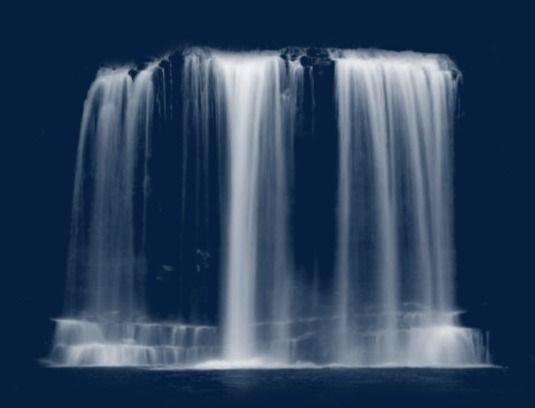 Cachoeira Waterfall Water Effect Psd Texture