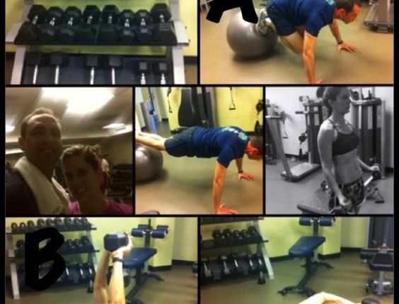 Circuit Weight Training-25 minutes or less.  #fitfluential