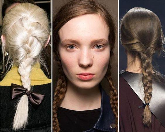 Groovy Fall Winter 2015 2016 Hairstyle Trends Braided Hairstyles 2015 Short Hairstyles Gunalazisus