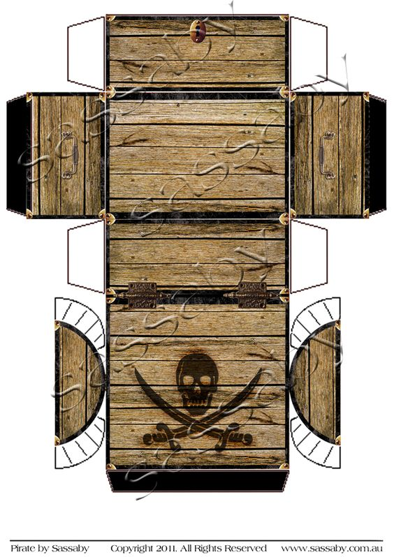 pirate treasure chest box pirate treasure videos and pirates. Black Bedroom Furniture Sets. Home Design Ideas