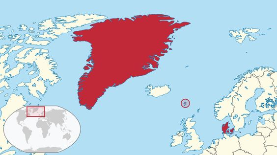 #Denmark might look small next to its nabors. But dont forget that both #Greenland and #Faroeislands is still part of the #Danish
