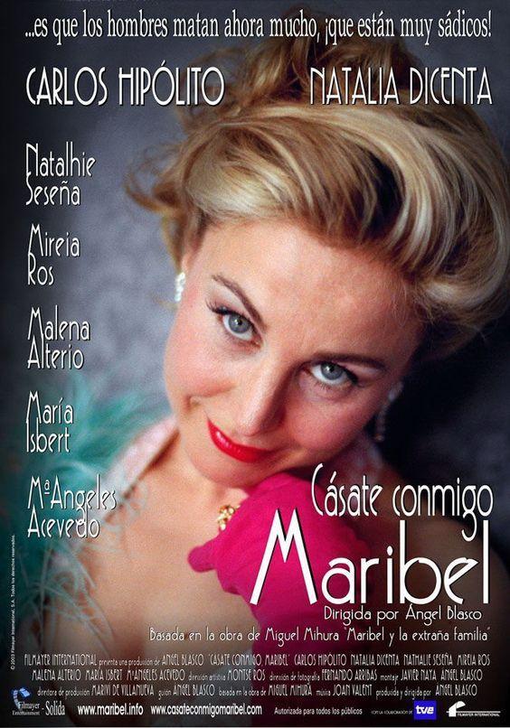 Casate Conmigo Maribel 2002 Tt0376550 Esp Cps Movie Posters Movies Poster