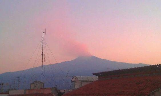 Vulkanen Etna, Sicilien