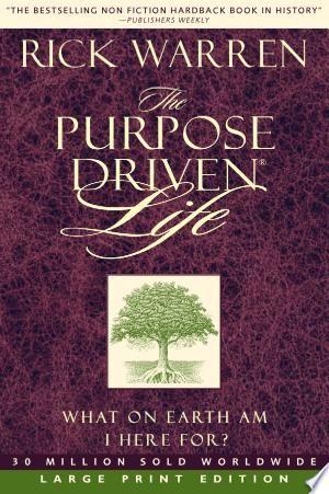 Download The Purpose Driven Life Pdf Free Purpose Driven Life Book Purpose Driven Life Purpose Driven