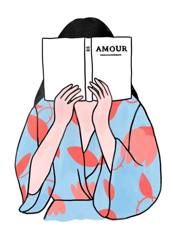 Ilustración minimalista sobre el amor y otras emociones 4