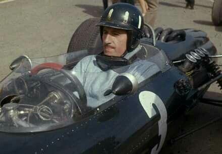 Graham Hill, two time Formula 1 world champion.