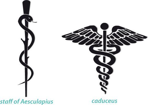 la vara de esculapio es el s u00edmbolo de medicina  solo una