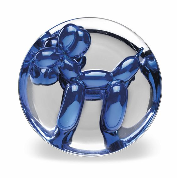 JEFF KOONS (B. 1955), Balloon Dog (Blue) Christie's First Open/Online