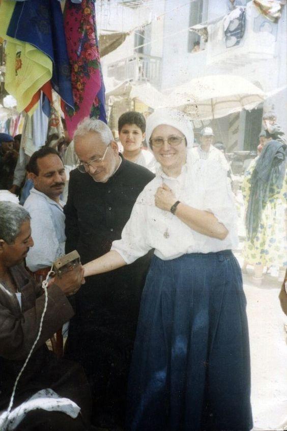 Sr. Juliana and Abuna Isaac