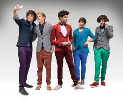 Aww...their colorful blazers :D