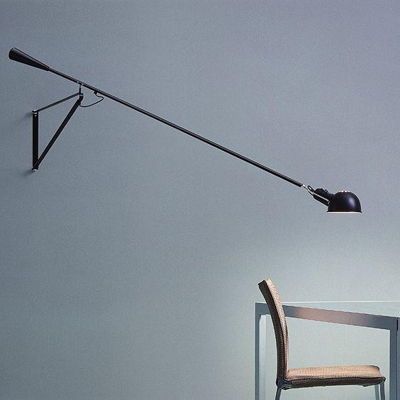 Luminária de parede com luz direta 265 Coleção Consumer - Wall Ceiling by FLOS | design Paolo Rizzatto