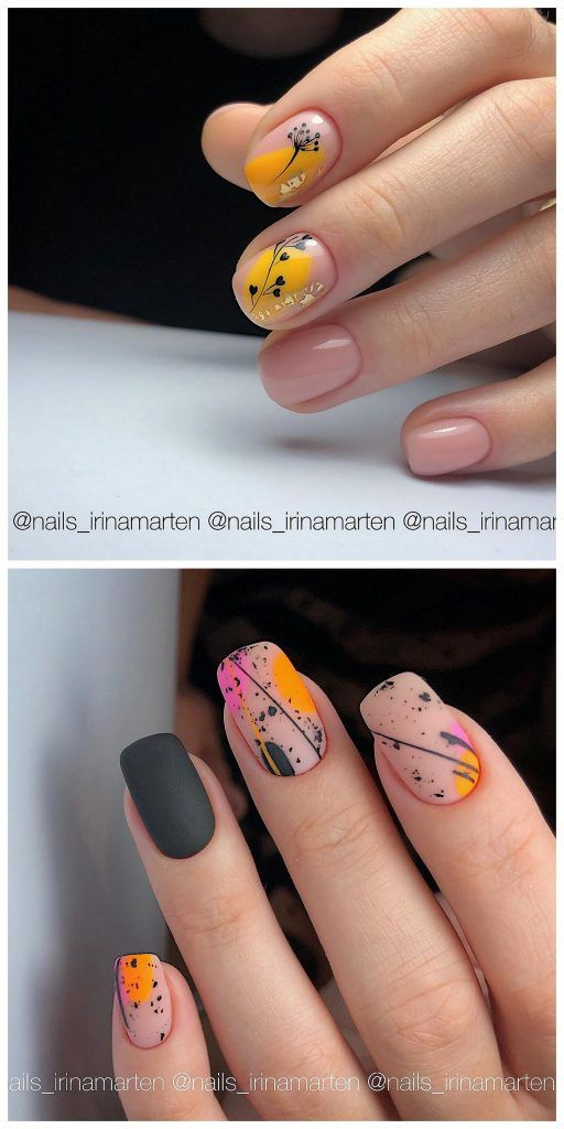 Roses On Teal To Yellow Gradient Nail Designs Nail Art Ideas And Care Tips In 2020 Gradient Nail Design Nails Gradient Nails