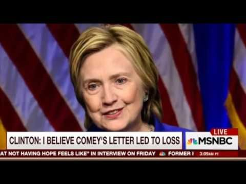 What A Sad Way To Go MSNBC's Morning Joe Rips Clinton On Post Election Blame Game Antics - YouTube