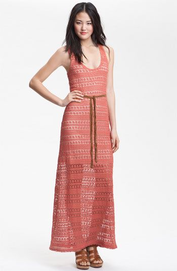 Sanctuary 'Key Largo' Crochet Maxi Dress   Nordstrom