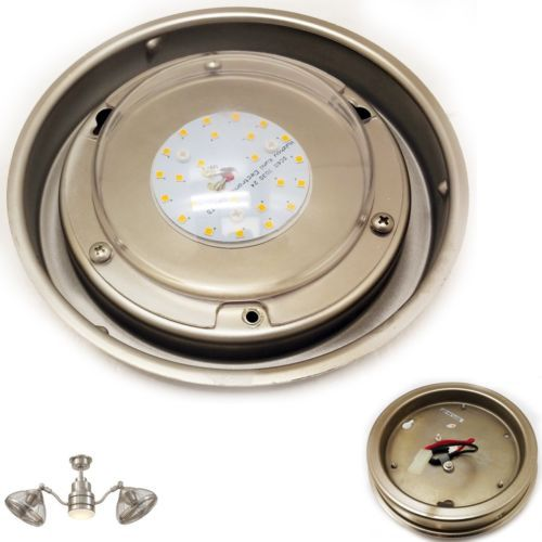 home decorators pendersen replacement led light kit brushed nickel ceiling fan ebay collection heron